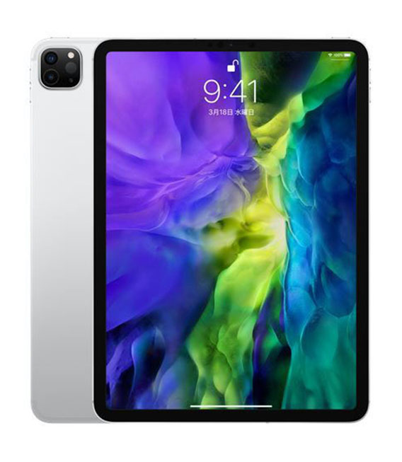 本体 白ロム iPad Aランク WI-FIモデル 超歓迎された 中古 安心保証 512GB iPadPro 11インチ Wi-Fiモデル 第2世代 特売 シルバー