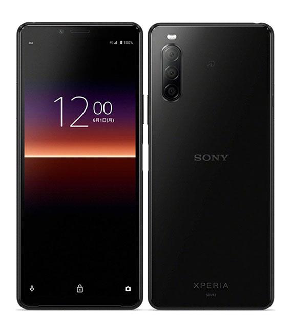 本体 白ロム Androidスマートフォン Aランク エーユー 日本産 ブラック 中古 付与 安心保証 au SOV43