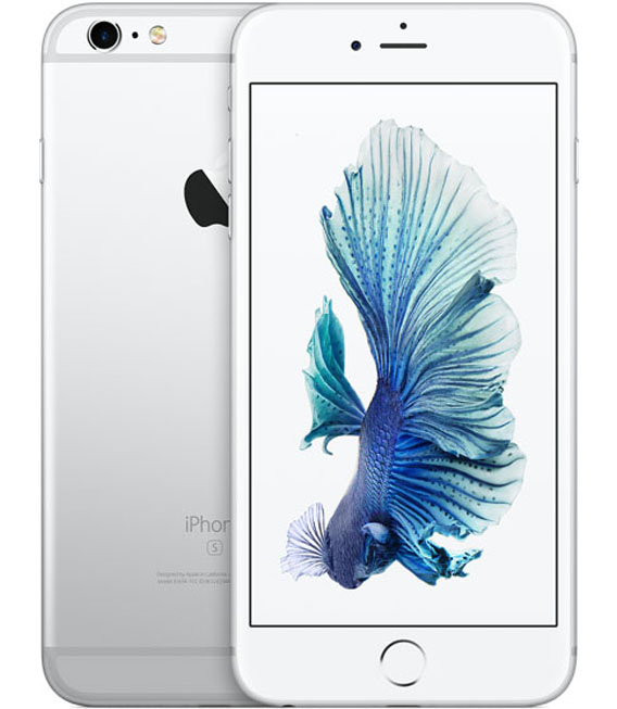 【中古】【安心保証】SIMフリー iPhone6sPlus[128] シルバー