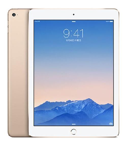 【中古】【安心保証】 au iPadAir2_6[4G32GB] ゴールド
