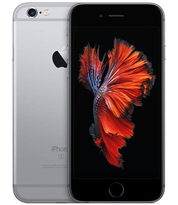 【中古】【安心保証】 SIMフリー iPhone6s[16G] スペースグレイ
