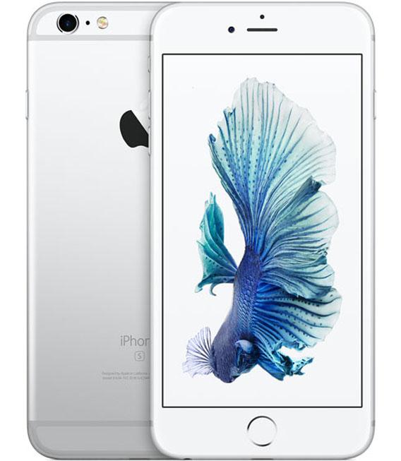 【中古】【安心保証】au iPhone6sPlus 128GB シルバー SIMロック解除済