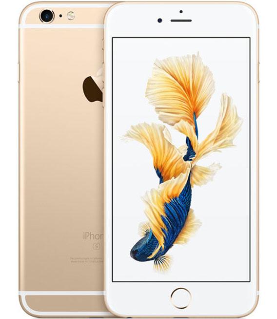 【中古】【安心保証】SIMフリー iPhone6sPlus[16G] ゴールド