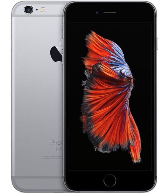 【中古】【安心保証】au iPhone6sPlus 64GB スペースグレイ SIMロック解除済