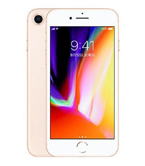 【中古】【安心保証】 SIMフリー iPhone8[256G] ゴールド
