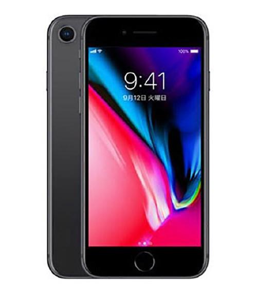 【中古】【安心保証】 SIMフリー iPhone8[256G] スペースグレイ