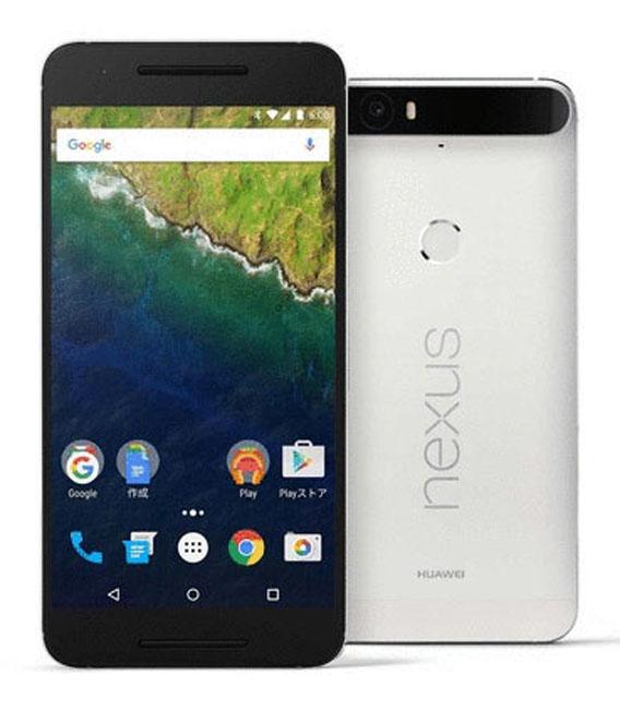 【中古】【安心保証】 SIMフリー Nexus6P[64G] フロスト