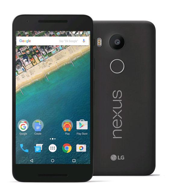 【中古】【安心保証】 SIMフリー Nexus5X[32GB] カーボン