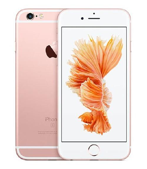 【中古】【安心保証】 UQモバイル iPhone6s[128G] ローズゴールド