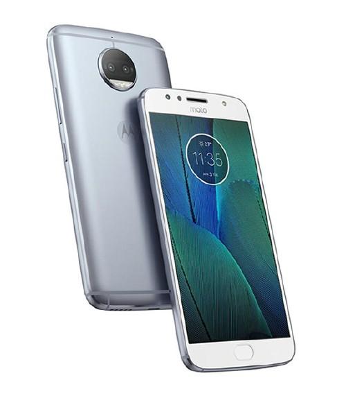 【中古】【安心保証】 SIMフリー MotoG5sPlus[32GB] ブルー