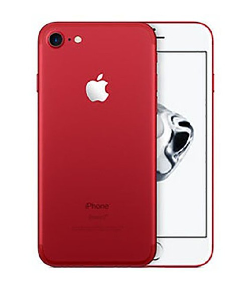 【中古】【安心保証】SoftBank iPhone7[128G] レッド