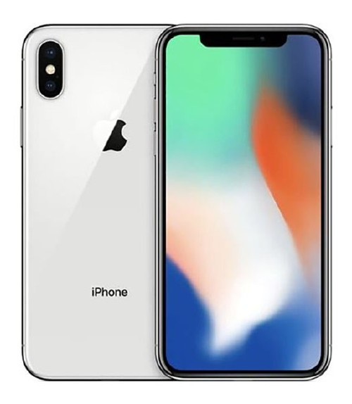 【中古】【安心保証】 docomo iPhoneX[64GB] シルバー