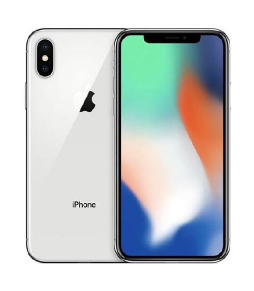 【中古】【安心保証】SIMフリー iPhoneX[64G] シルバー