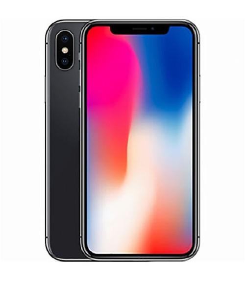 【中古】【安心保証】au iPhoneX[64G] スペースグレイ