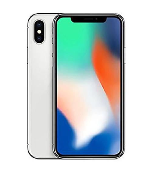 【中古】【安心保証】au iPhoneX[256G] シルバー