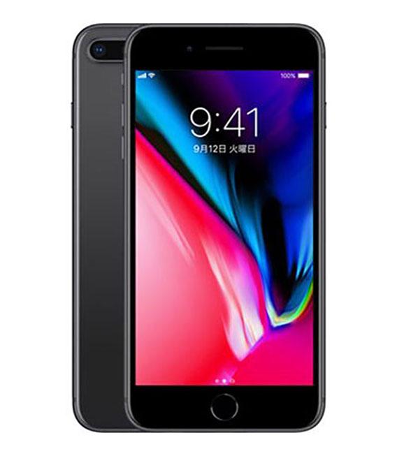 【中古】【安心保証】 SIMフリー iPhone8Plus[64G] スペースグレイ