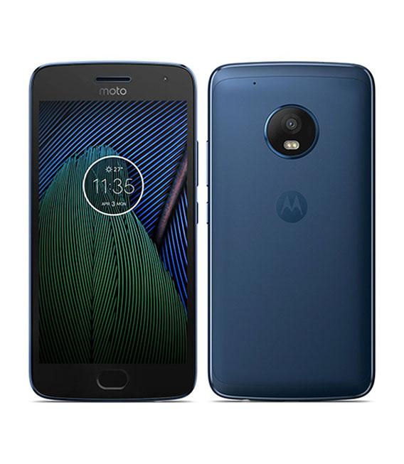 【中古】【安心保証】SIMフリー MotoG5s[32G] ブルー