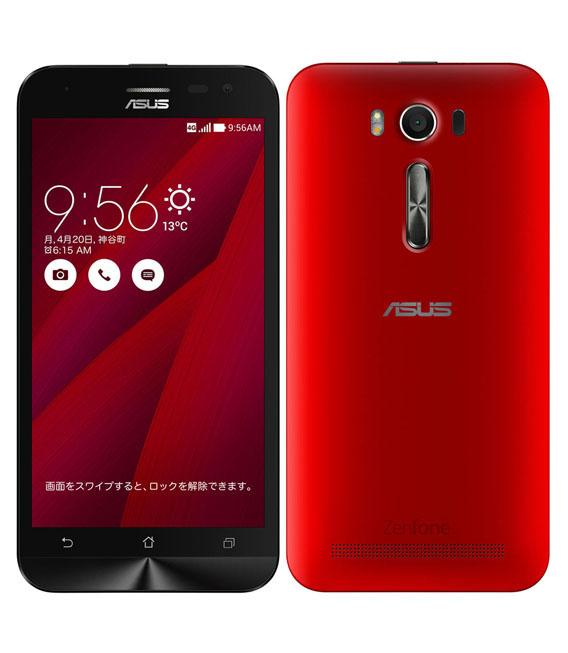 本体 白ロム Androidスマートフォン Aランク 超歓迎された SIMフリー 中古 安心保証 10%OFF ZenFone2Laser SIMフリー 16G レッド