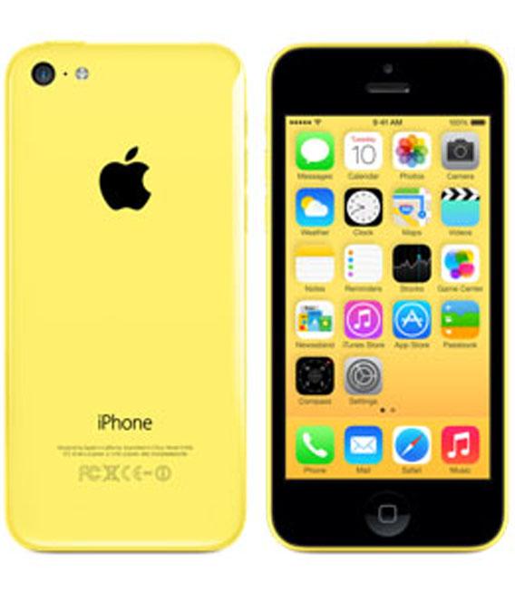 【25日限定P10倍】【中古】【安心保証】 au iPhone5c[32G] イエロー