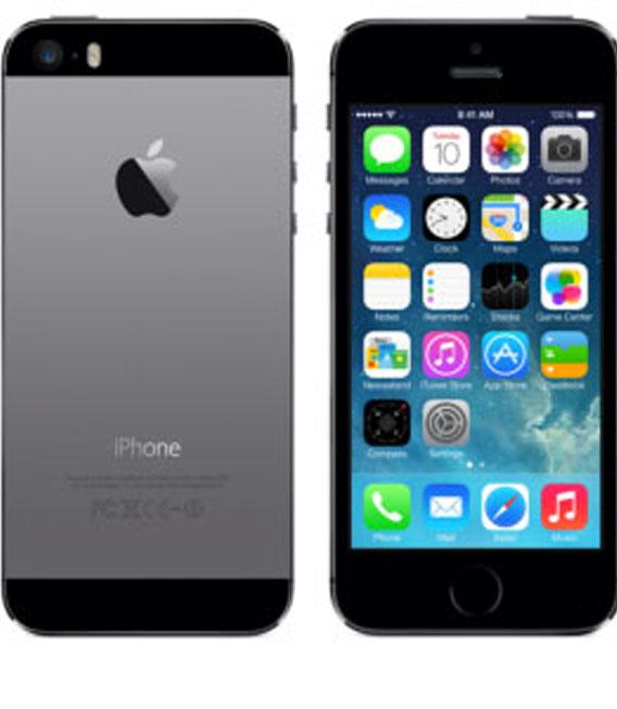 【お買い物マラソンポイント最大28倍】au iPhone5s[16G] スペースグレイ【中古】【安心保証】