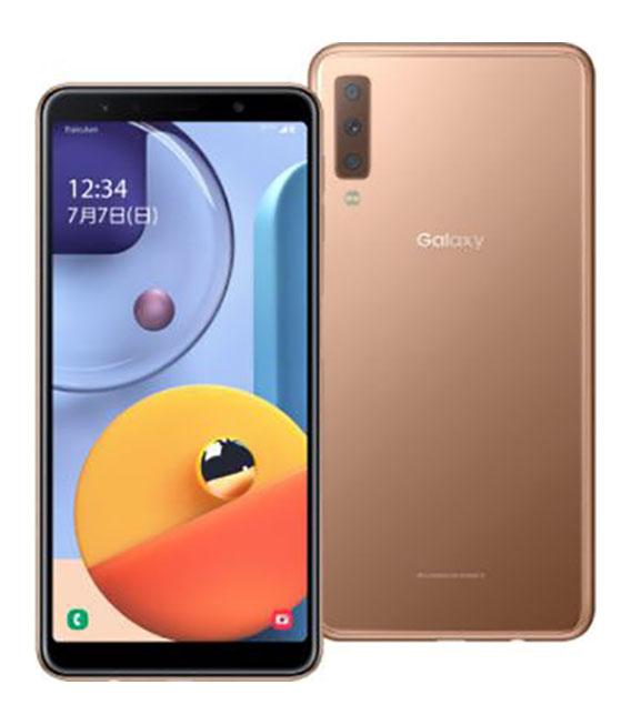 本体 白ロム Androidスマートフォン Aランク ラクテンモバイル 高品質 中古 A7 Galaxy ゴールド モバイル 安心と信頼 安心保証
