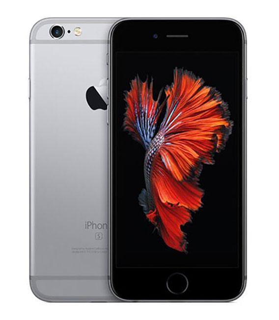 【中古】【安心保証】 docomo iPhone6s 128GB スペースグレイ SIMロック解除済
