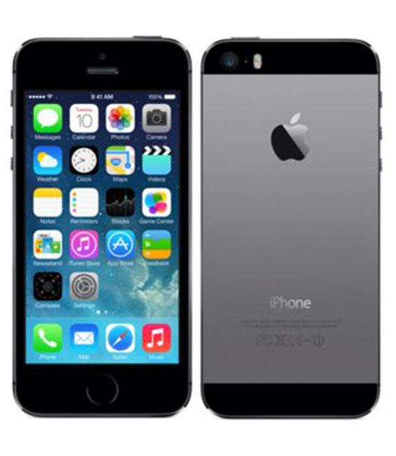 【中古】【安心保証】 SoftBank iPhone5s[64G] スペースグレイ