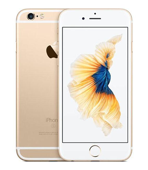 【中古】【安心保証】 SoftBank iPhone6s[128G] ゴールド SIMロック解除済