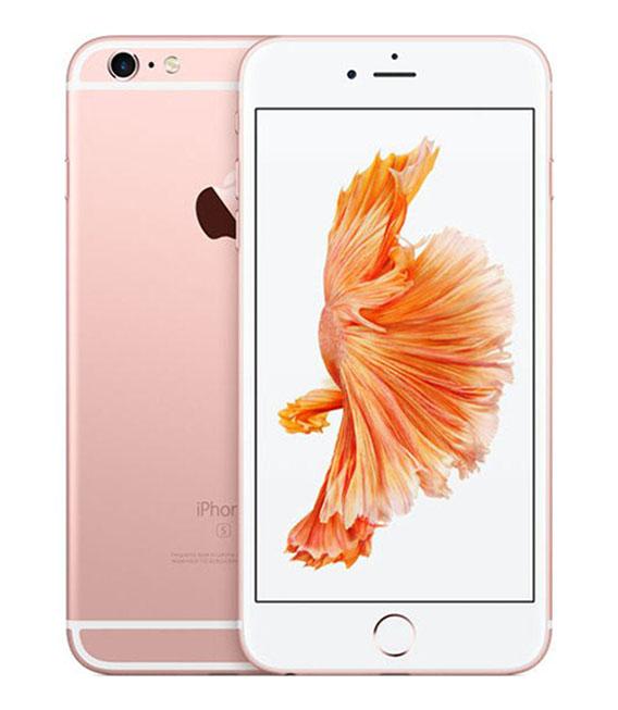 【中古】【安心保証】 SoftBank iPhone6sPlus[128G] ローズゴールド SIMロック解除済