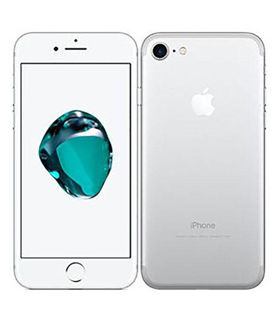 【中古】【安心保証】docomo iPhone7[256G] シルバー SIMロック解除済