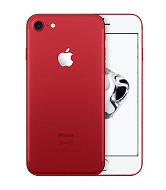 【中古】【安心保証】SoftBank iPhone7[256G] レッド SIMロック解除済