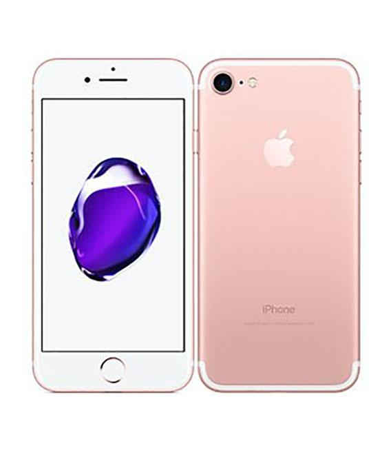 【中古】【安心保証】 SoftBank iPhone7 256GB ローズゴールド SIMロック解除済