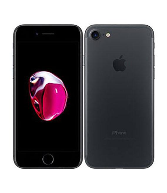 【中古】【安心保証】 SoftBank iPhone7[256G] ブラック SIMロック解除済