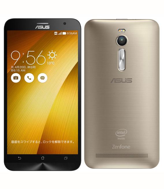 【中古】【安心保証】 SIMフリー ZenFone2[64G4G] ゴールド