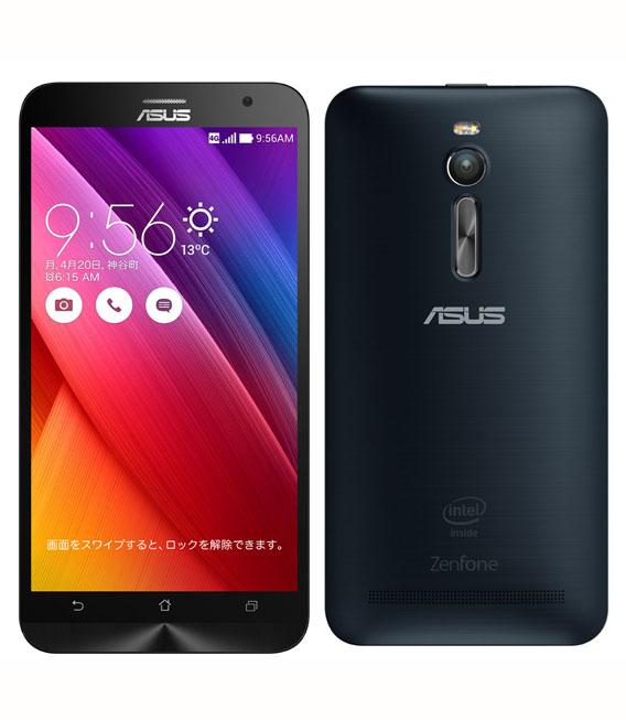 【中古】【安心保証】 SIMフリー ZenFone2[32G4G] ブラック