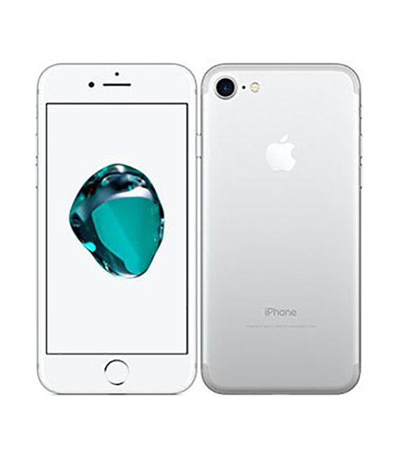 【中古】【安心保証】 SoftBank iPhone7 256GB シルバー SIMロック解除済
