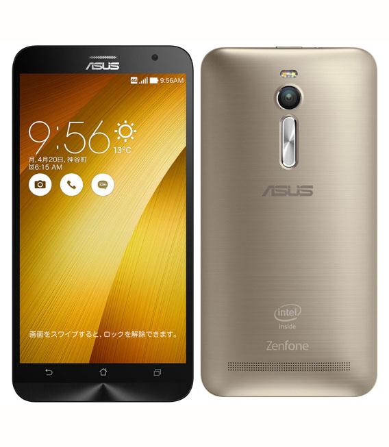 【中古】【安心保証】 SIMフリー ZenFone2[32G4G] ゴールド