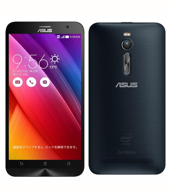 【中古】【安心保証】 SIMフリー ZenFone2[32G2G] ブラック
