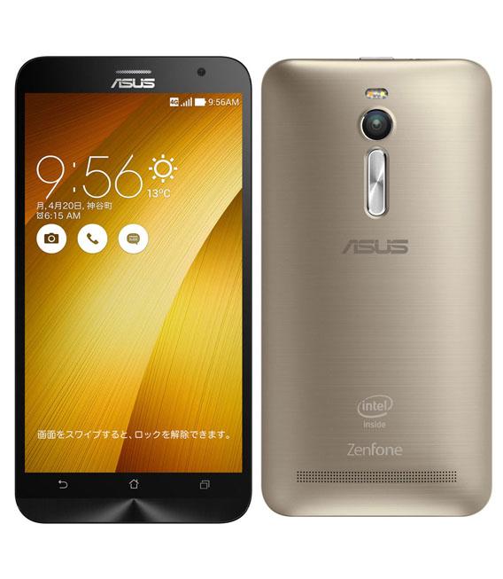 【お買い物マラソンポイント最大28倍】SIMフリー ZenFone2[32G2G] ゴールド【中古】【安心保証】