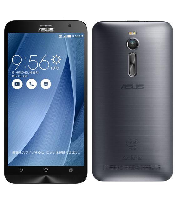【中古】【安心保証】 SIMフリー ZenFone2[32GB2GB] グレー