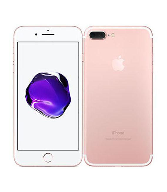 【中古】【安心保証】 docomo iPhone7Plus[256G] ローズゴールド SIMロック解除済