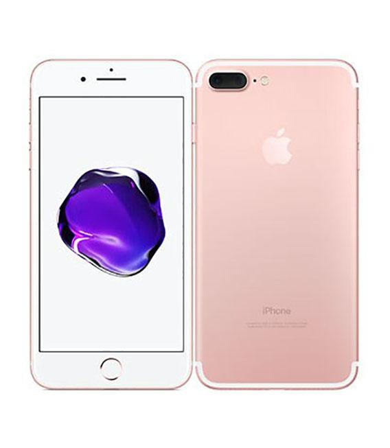 【中古】【安心保証】 docomo iPhone7Plus[128G] ローズゴールド SIMロック解除済