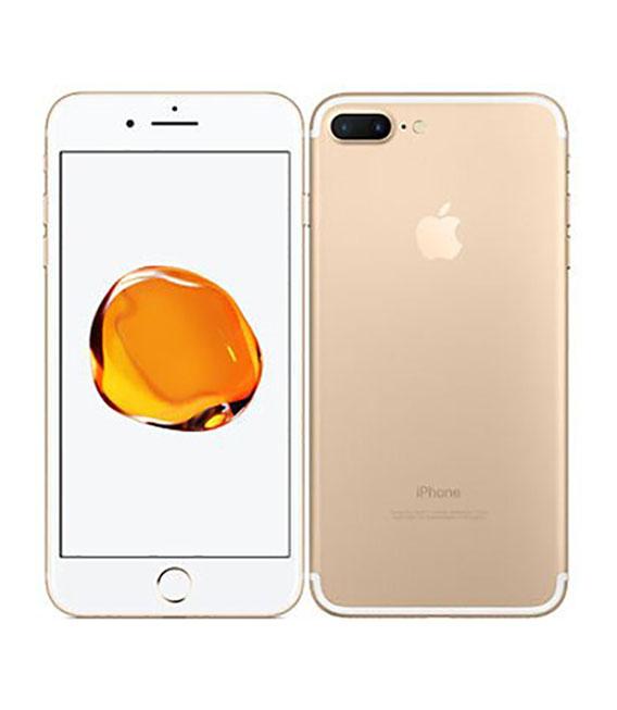 【中古】【安心保証】 docomo iPhone7Plus[128G] ゴールド SIMロック解除済