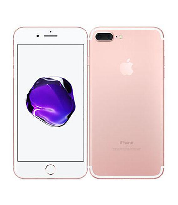 【中古】【安心保証】 SoftBank iPhone7Plus[256G] ローズゴールド SIMロック解除済