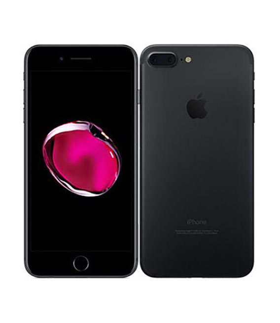 【中古】【安心保証】 SoftBank iPhone7Plus 128GB ブラック SIMロック解除済