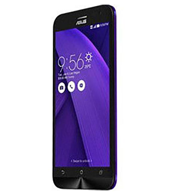 【中古】【安心保証】SIMフリー ZenFone2Laser[16G] パープル
