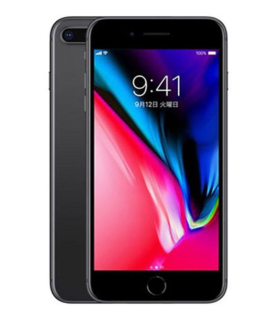 【中古】【安心保証】 docomo iPhone8Plus 256GB スペースグレイ SIMロック解除済