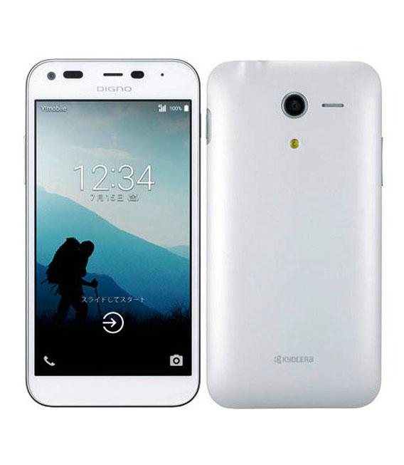 【中古】【安心保証】 Y!mobile DIGNO E 503KC ホワイト