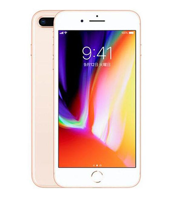 【中古】【安心保証】au iPhone8Plus[64G] ゴールド SIMロック解除済