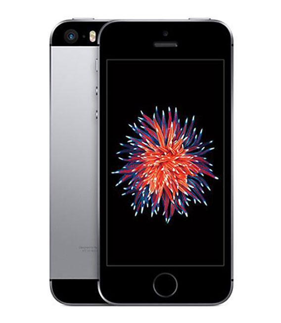 【中古】【安心保証】 docomo iPhoneSE[128G] スペースグレイ SIMロック解除済